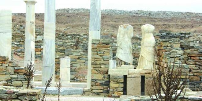 Delos, Greece: Once the most well known cultural center of the known world