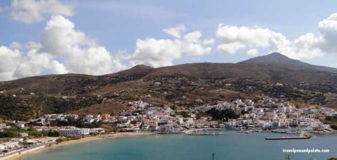 The shifting beauty of autumn on Andros Island