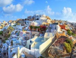 Seize the day on the stunning Greek isle of Santorini