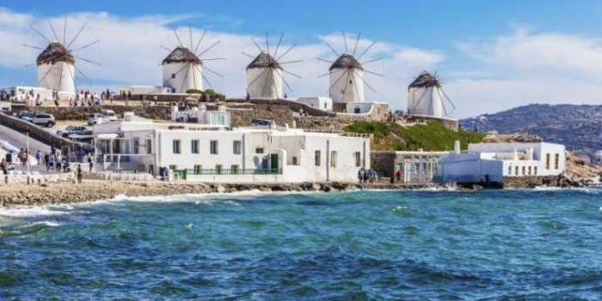 Three Greek islands amongst the 'Best in the World'